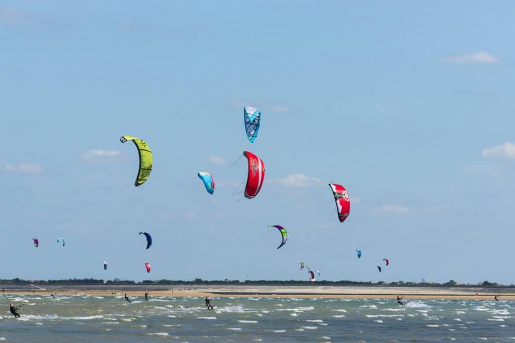 Kite surf ©Yann Werdefroy